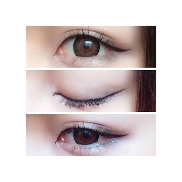 桐谷美玲さんみたいなキュートな瞳に近づく♡猫目メイクのやり方 /  biche(ビーチェ)の画像
