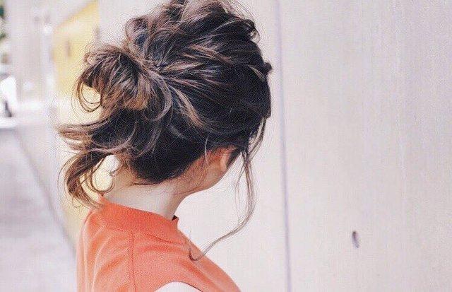 ほぐしを効かせたアップヘアですっきり!おすすめ冬ヘアアレンジ まとめ の画像