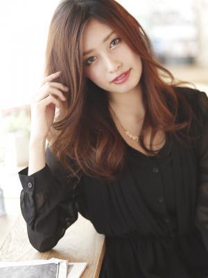 髪型 ロング 髪型 ロング 段 : cosme.net