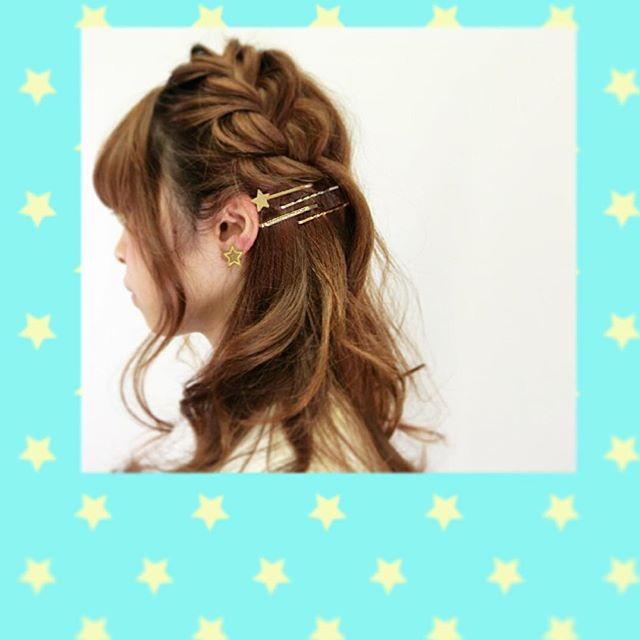 髪型 ピン 髪型 アレンジ : cosme.net