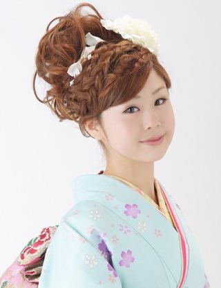 着物 髪型 結婚式 着物 髪型 編み込み : cosme.net