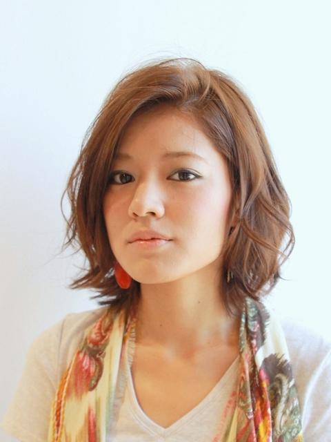 大人カジュアルミディ | 茶屋町・中崎町の美容室 Bonheur UMEDAのヘア